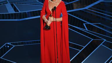"""I didn't see this coming!"" Allison Janney wins Best Supporting Actress at the 2018 Oscars"