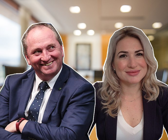 The Barna-baby arrives! Former deputy PM Barnaby Joyce welcomes son with partner Vikki Campion