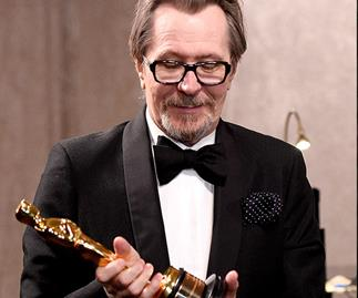 Gary Oldman dented his new Oscar