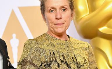 Man arrested for allegedly stealing Frances McDormand's Oscar