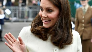 Duchess Catherine steps out solo just weeks before baby number three's arrival