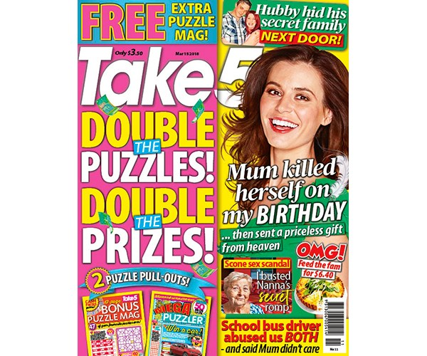 Take 5 Issue 11 Coupon