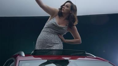 "This is what happens when you ask Celeste Barber to ""model"" in a car ad"