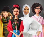 Barbie was given a makeover for International Women's Day and we're all for it