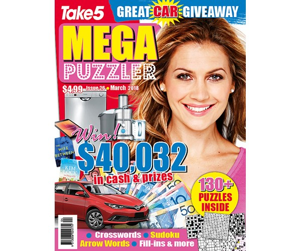 Mega Puzzler Issue 26 Coupon