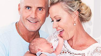 """He's perfect and we're absolutely obsessed!"" Lisa Curry and Grant Kenny introduce their grandson"
