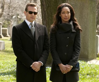 Harvey Spectre and Jessica Pearson