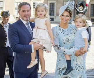 Princess Madeleine, Chris O'Neill, Princess Leonore, Prince Nicolas