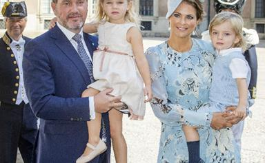 Royal baby alert! Sweden's Princess Madeleine and husband Chris O'Neill welcome their third baby