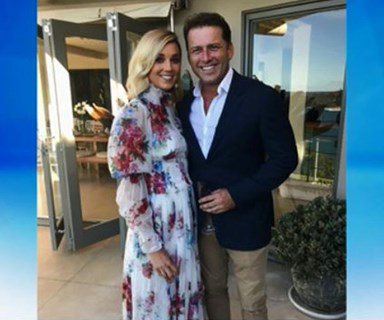 Baby speculation after Karl Stefanovic and Jasmine Yarbrough's commitment ceremony