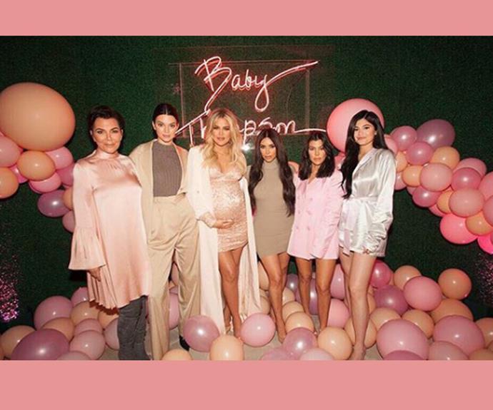 All the glamorous pics from inside Khloe Kardashian's pink baby shower