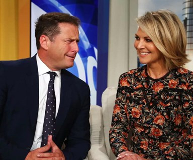 "Apparently there's a ""secret phone recording"" of Peter and Karl Stefanovic bitching about Georgie Gardner"