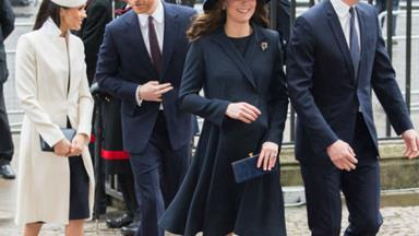 Hats off! Meghan Markle and Duchess Kate coordinate their outfits for Commonwealth Day celebrations