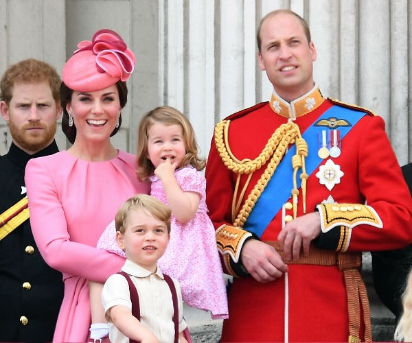 Prince William, Princess Charlotte