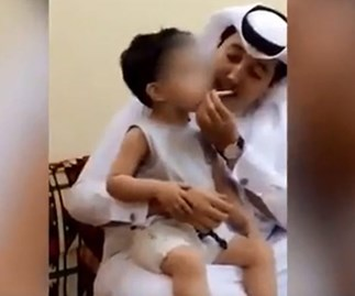 Man arrested for forcing three-year-old to smoke cigarette