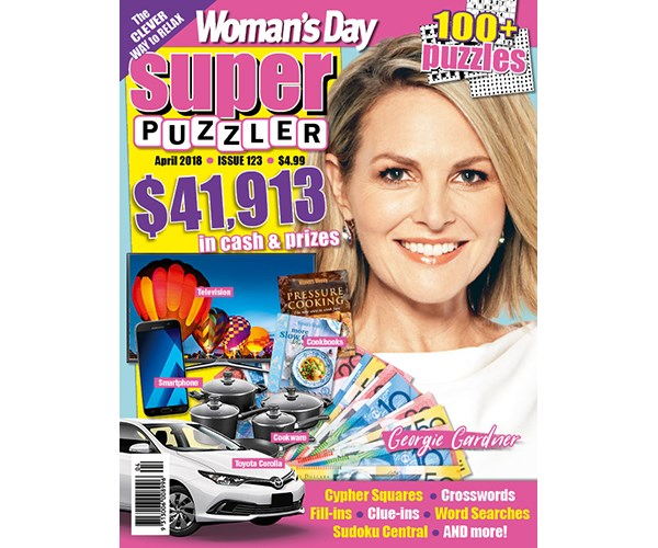 Woman's Day Superpuzzler Issue 123