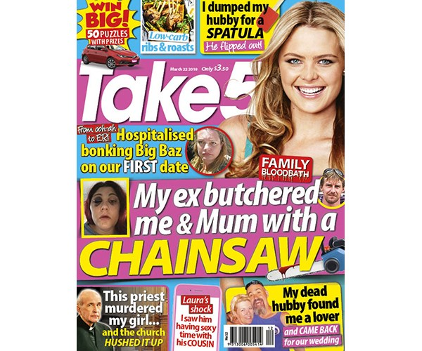 Take 5 Issue 12 Coupon