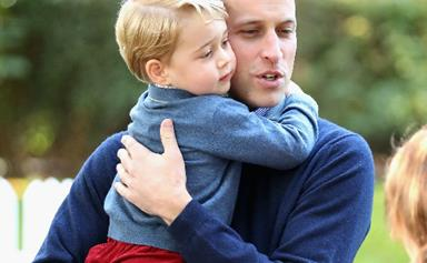 Watch out world! Prince William reveals Prince George might have already picked out his dream job