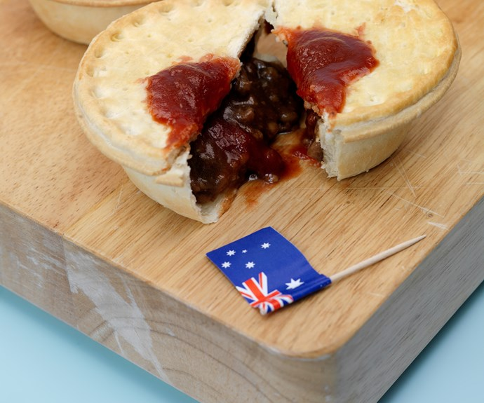 meat pie food australia