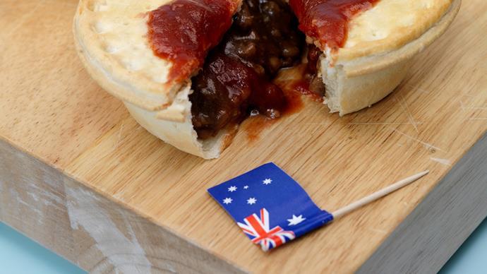 meat pie food australia