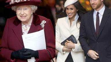 The Queen gives her official consent to Prince Harry and Meghan Markle's wedding