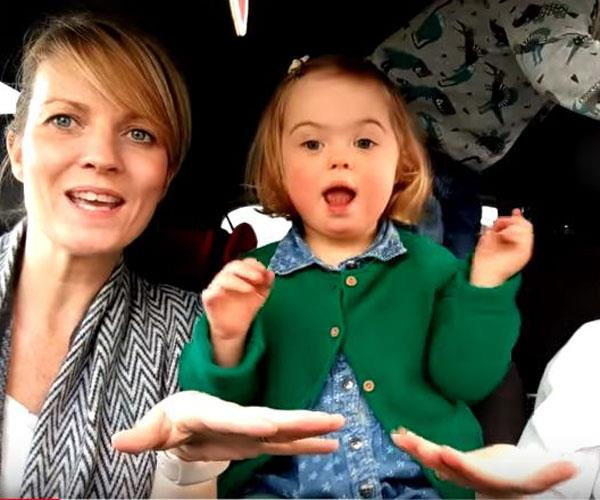 Mums' Down syndrome carpool karaoke video goes viral for the most beautiful reasons