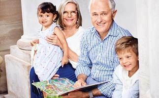EXCLUSIVE: At home with Malcolm and Lucy Turnbull