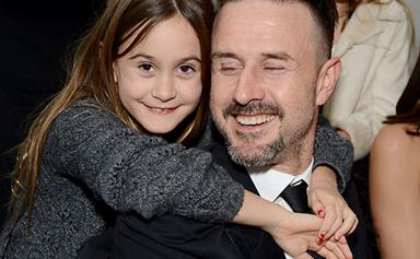 Courteney Cox's daughter looks more grown-up than ever while spending time with her famous father