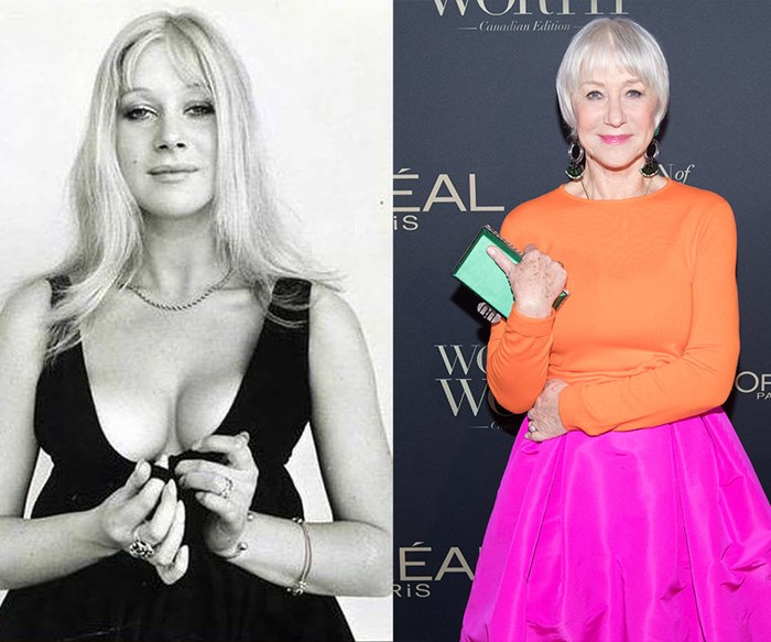 From the actresses in Matilda to Helen Mirren - who would have thought they'd grow up to look like this!?