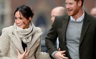 They're in the mail! Prince Harry and Meghan Markle send out their wedding invitations