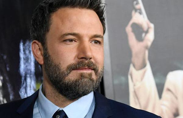 Ben Affleck's GIANT back tattoo