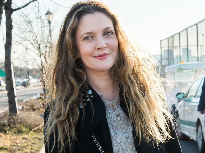 "A fan thought Drew Barrymore was pregnant: ""no, I'm just fat right now"""