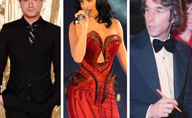 25 international guests who have attended the Logies
