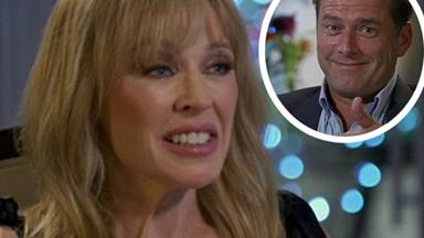 Karl Stefanovic is being slammed for his BIZARRE Kylie Minogue interview