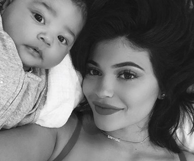 Kim Kardashian interviews little sister Kylie Jenner on motherhood