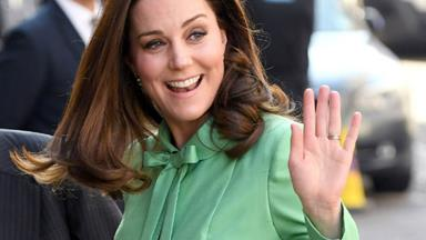 The Duchess of Cambridge makes history with new patronage just weeks before giving birth