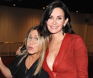 Courteney Cox advises Jennifer Aniston on Brad Pitt