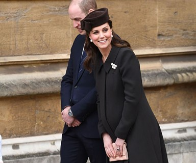 Duchess of Cambridge's surprise appearance at Easter service
