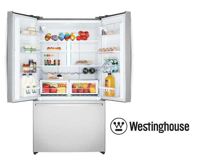 Win an all new Westinghouse Refrigerator filled with chocolate