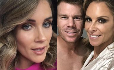 David and Candice Warner awkwardly snub Georgia Love as she interviews them on 'The Project'