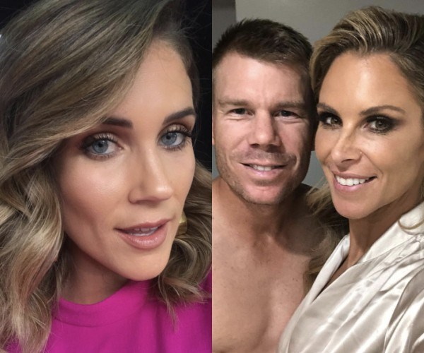 David Warner, Candice Warner, Georgia Love