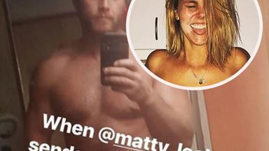 MAFS' Matt Lockett and Blair Rachael share nude selfies and his mum is NOT happy