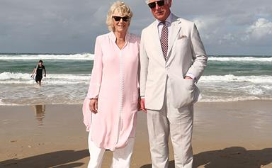 Prince Charles and the Barefoot Duchess: the Royals hit Broadbeach