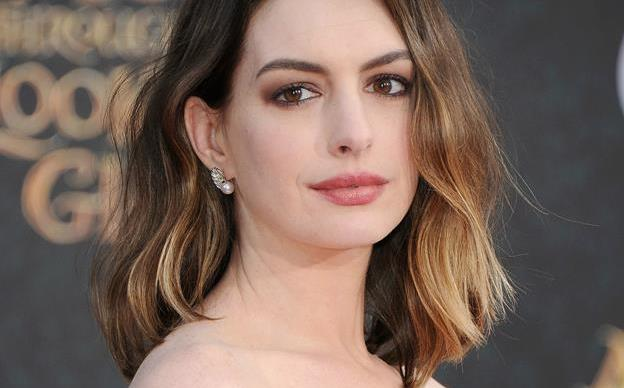 Anne Hathaway knows she's gaining weight and doesn't need you to tell her