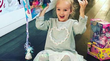 FiFi Box's daughter Trixie Belle has turned five and these pics of her smiling face will light up your week