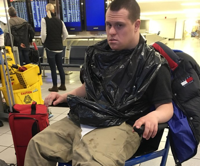 Airline kicks teen with Down syndrome off flight after he vomited before take off