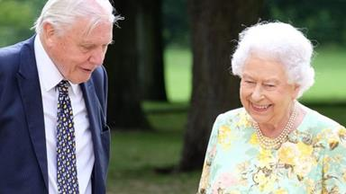 The Queen is delightfully charming and funny in a new interview with Sir David Attenborough