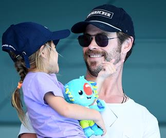 Be still our beating hearts! These new pics of Chris Hemsworth and his daughter will make you MELT