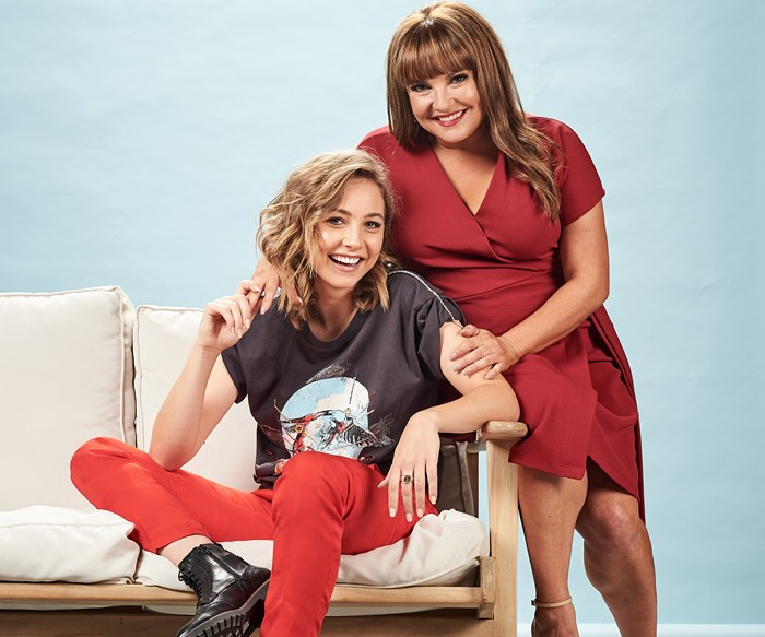EXCLUSIVE: Neighbours' co-stars Rebekah Elmaloglou and Mavournee Hazel gush over their working relationship