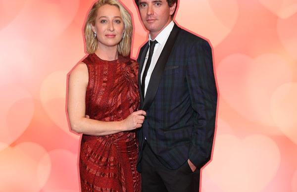 Asher Keddie and Vincent Fantauzzo